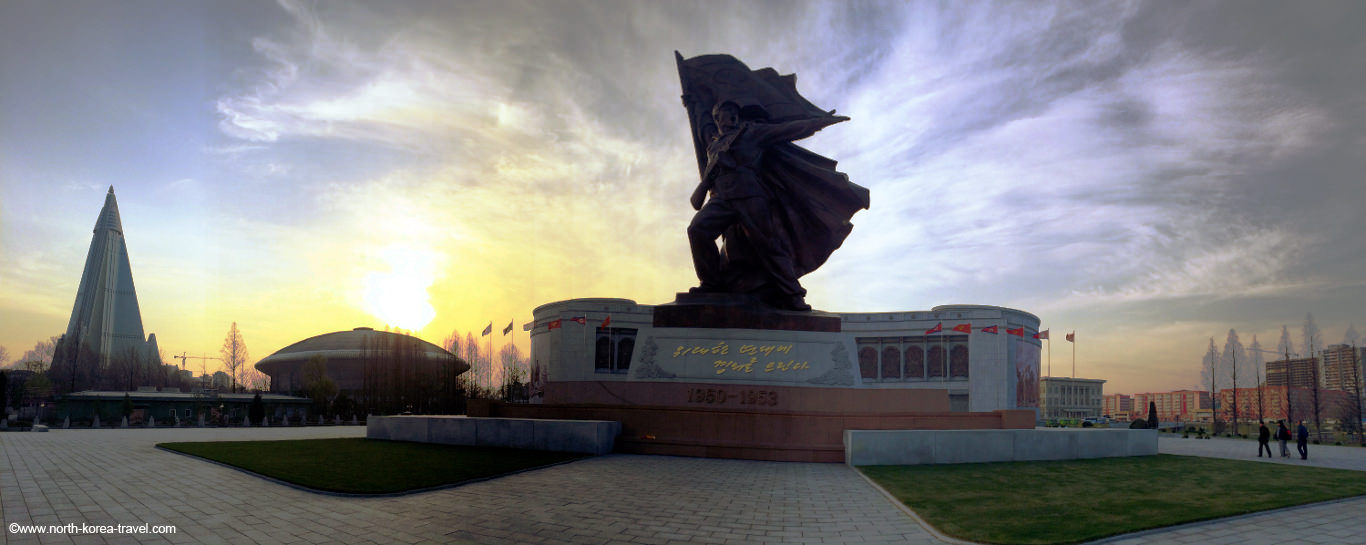 Korean War Museum in Pyongyang capital of North Korea (KTG picture)