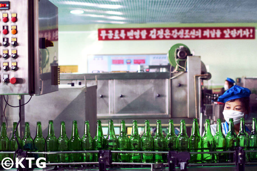 Kangso water bottling factory, North Korea (DPRK)