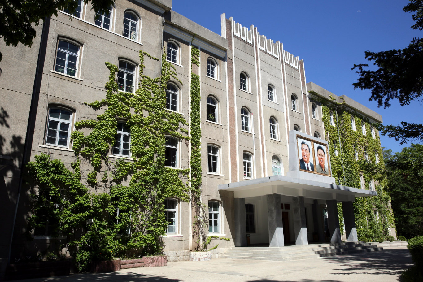 Wonsan Agriculutural University on the east coast of North Korea. Wonsan is a port city, capital of Kangwon Province. Many DPRK national heroes and North Korean scientists attended the Wonsan University of Agriculture