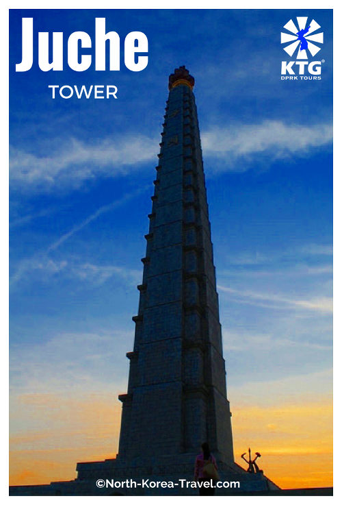 Torre Juche en Corea del Norte