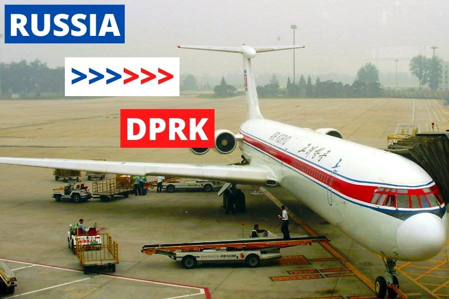 Air Koryo plane. This is the DPRK National Carrier, the only airline company in North Korea