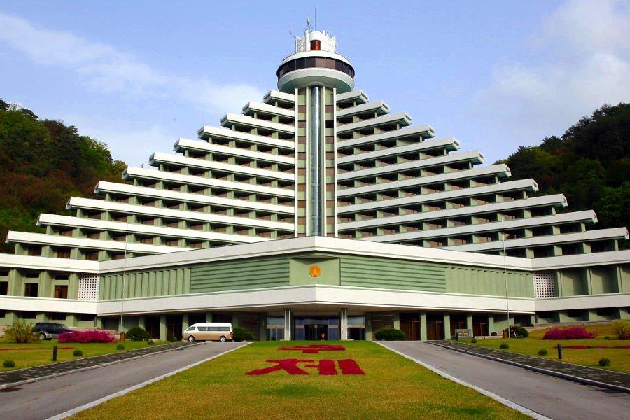 l'hôtel Hyangsan en Corée du Nord