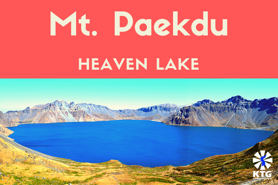 Mt. Paekdu in North Korea (DPRK) is a sacred mountain for Koreans