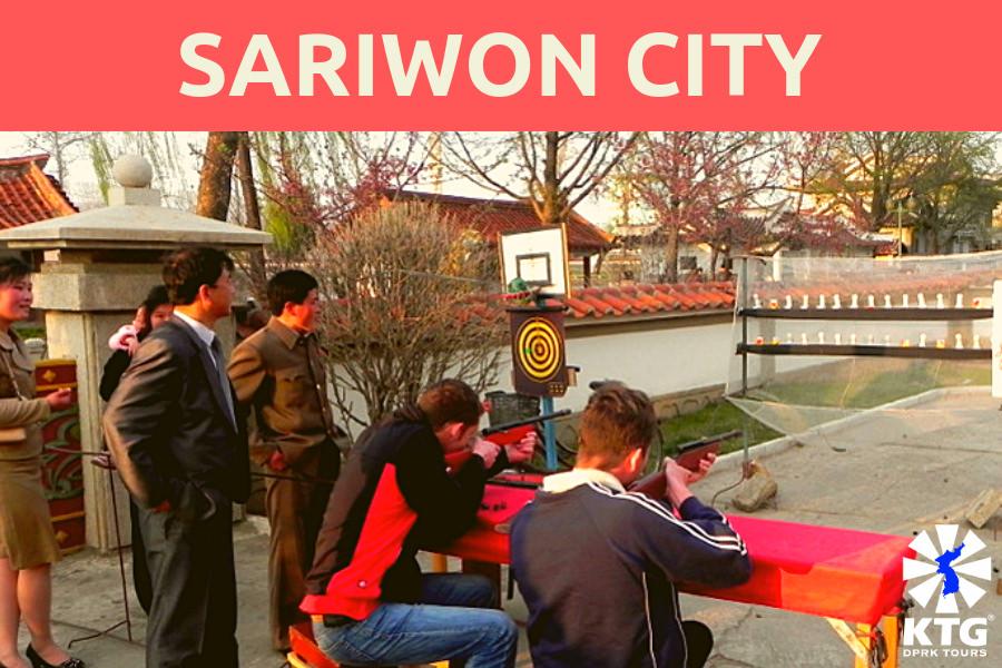 Sariwon city in North Korea (DPRK)