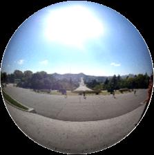 Kaesong seen from Janam Hill, DPRK 360°