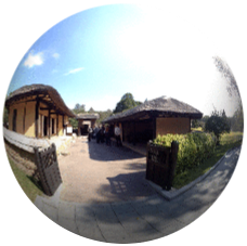 Mangyongdae Native House in 360° Pyongyang capital of North Korea