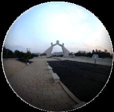 Monumento de la Reunificación en Corea del Norte visto en 360°