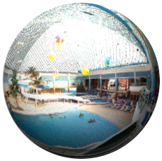 Munsu Water Park in Pyongyang, North Korea. DPRK 360° images by KTG