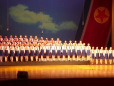 Childrens Palace show in Pyongyang