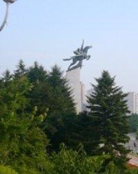 Chollima Statue, Pyongyang, Nordkorea