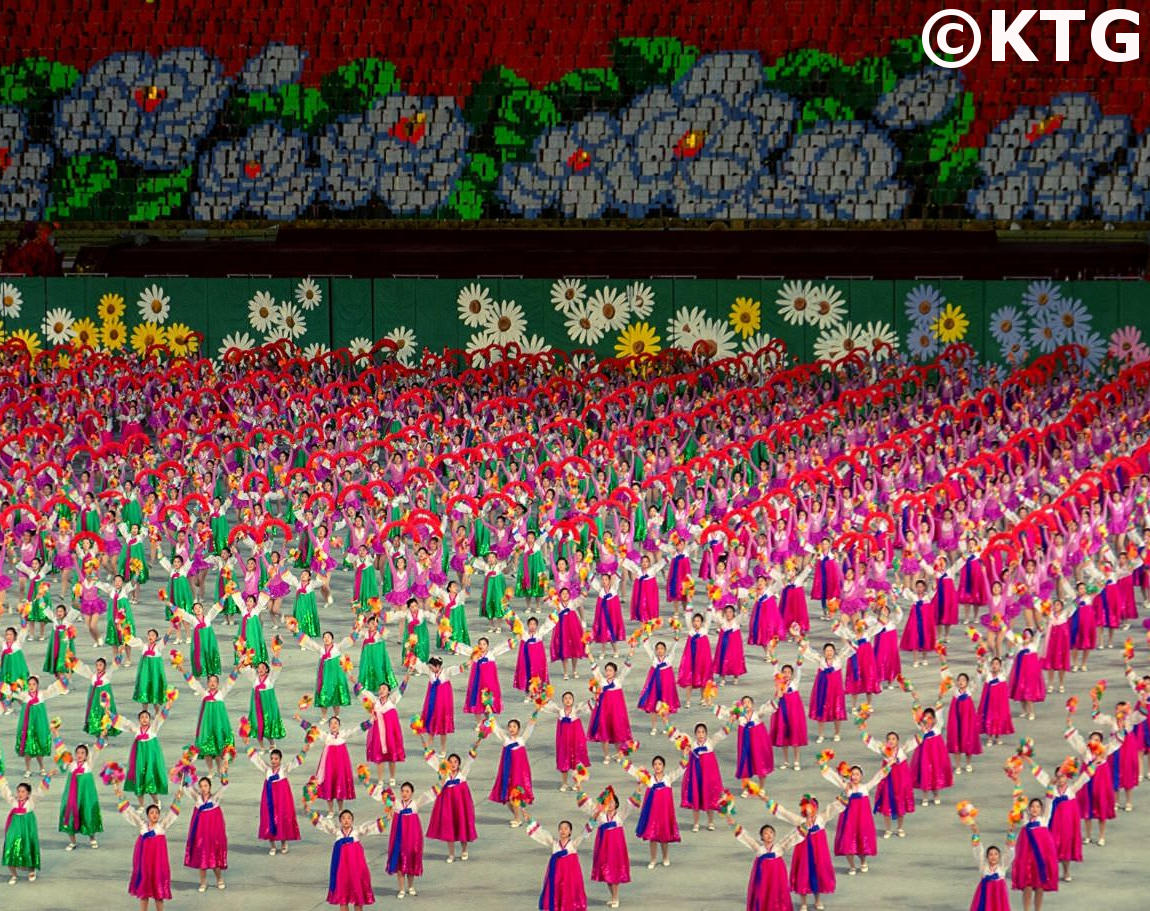 Mass Games in North Korea with KTG Travel