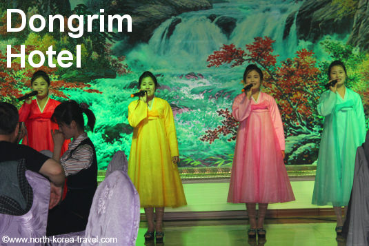 Performance at the Dongrim Hotel in North Korea