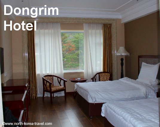 Dongrim Hotel room, North Pyonyan Province, North Korea (DPRK)