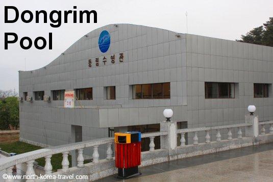Piscina en Corea del Norte en el Hotel Dongrim