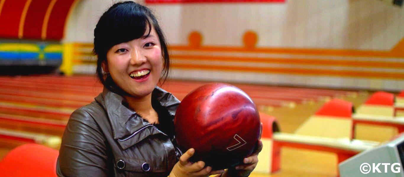 Bowling in Pyongyang (North Korea); Golden Lane Bowling Alley