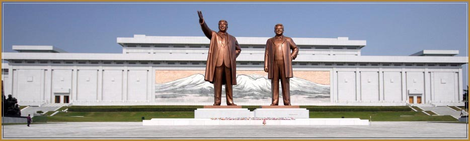 grand monuments north korea