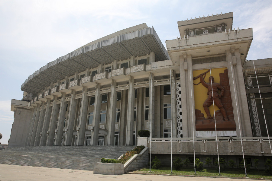 Grand Theatre in Hamhung