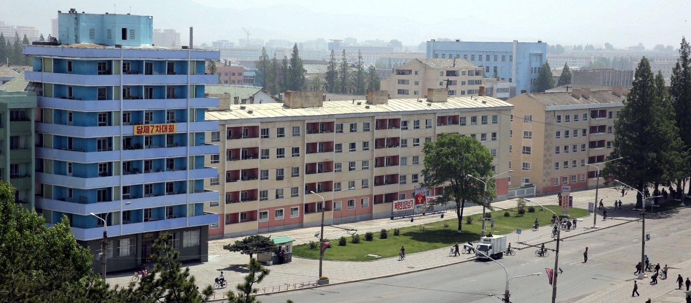 Avenida principal de Hamhung, Corea del Norte