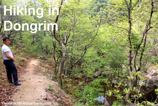 Hiking in Dongrim, North Pyongan Province, DPRK (North Korea)