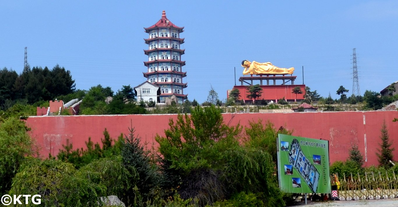 Temple in Hunchun, Yanbian (Jilin Province, China)