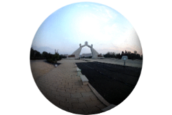 360 image of the Arch of Reunification in Pyongyang, North Korea
