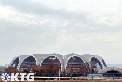 Design of the Rungrado May Day Stadium in Pyongyang capital of North Korea, DPRK