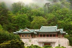 International Friendship Exhibition Centre in Mount Myohyang, North Korea (DPRK). Trip arranged by KTG Tours