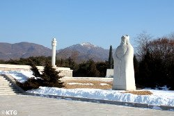 Tomb of King Tangun in the outskirts of Pyongyang, DPRK (North Korea). Picture taken by KTG
