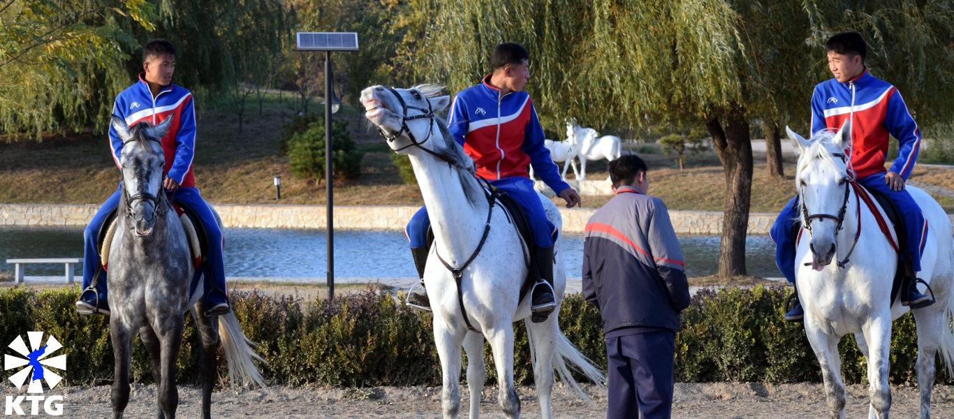 Horse riding in North Korea with KTG