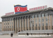 Kim Il Sung Square in Pyongyang, DPRK (North Korea)