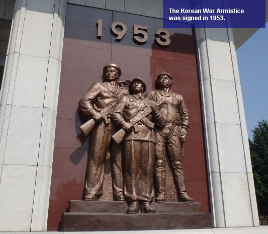 Korean War. 1953 is when the armistice was signed