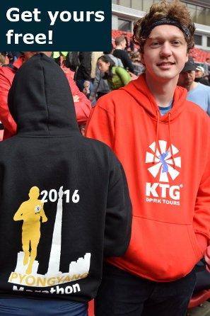 KTG Pyongyang Marathon hoody