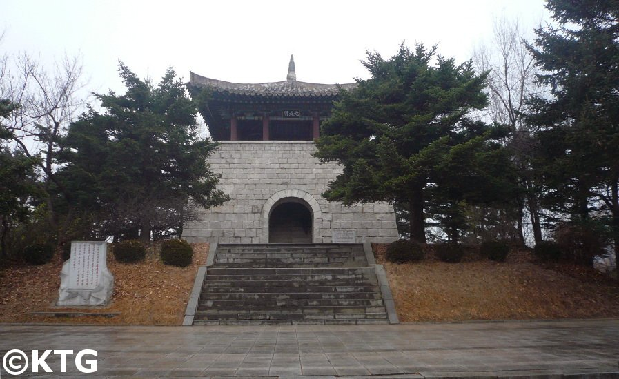 Kuchon Pavilion in Hamhung, North Korea