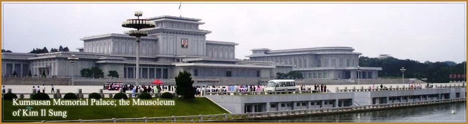 Mausolee de Kim Il Sung en Coree du Nord