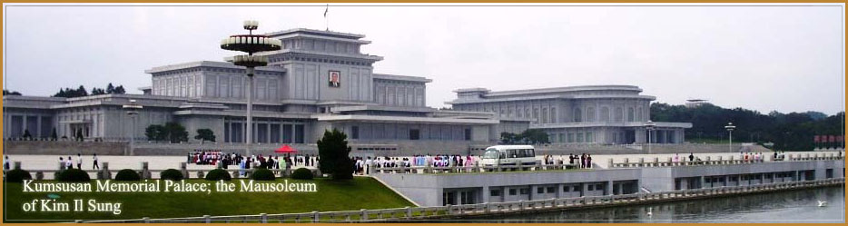 Kim Il Sung Kim Čong-il a Mauzoleum