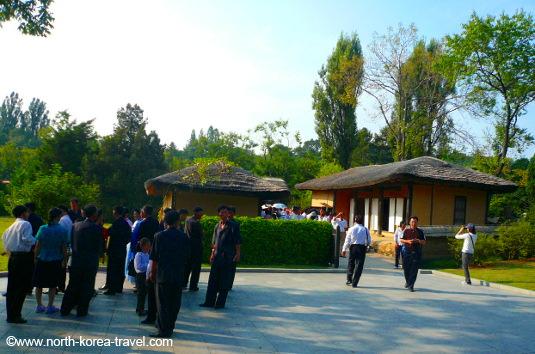 Maison natale du Président de la Corée du Nord (RPDC) Kim Il Sung à Pyongyang