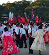 kim il sung returns to korea after liberation