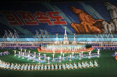 mass games acrobatics