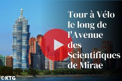Tour à Vélo le long de l'Avenue des Scientifiques de Mirae