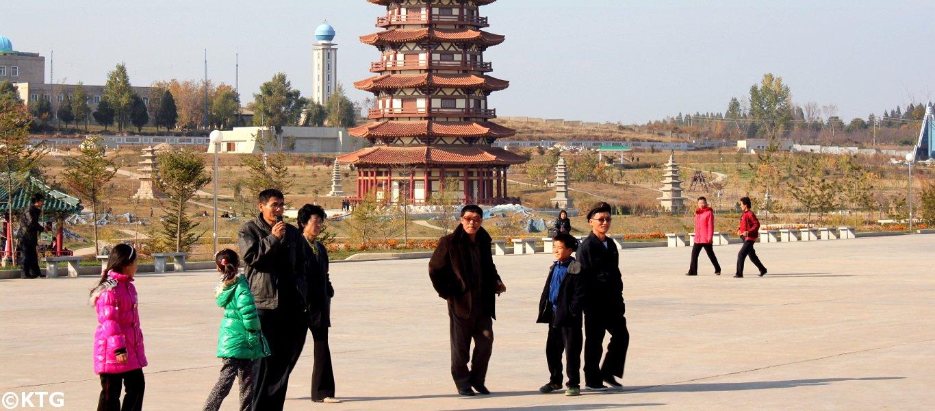 mini-Pyongyang in North Korea (DPRK)