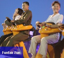 Funfair in North Korea