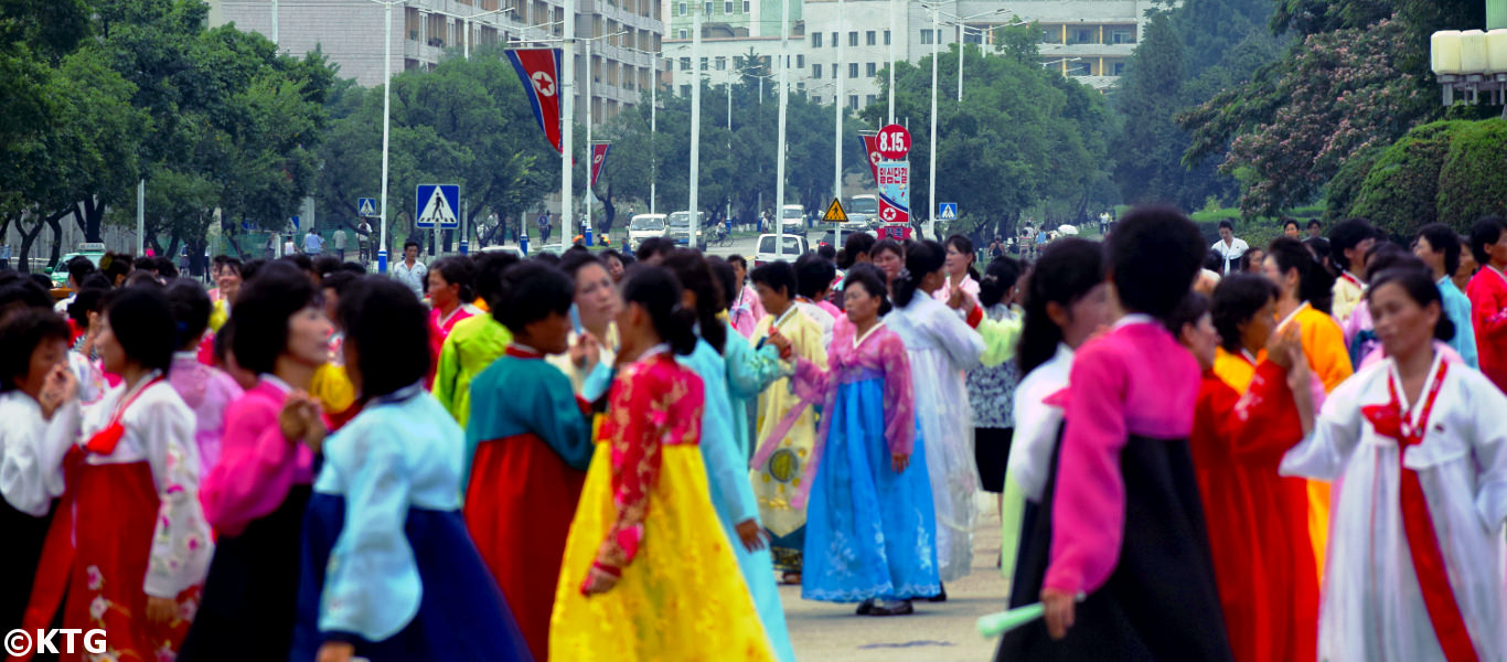 Arch of Triumph on Liberation Day, Pyongyang (DPRK)