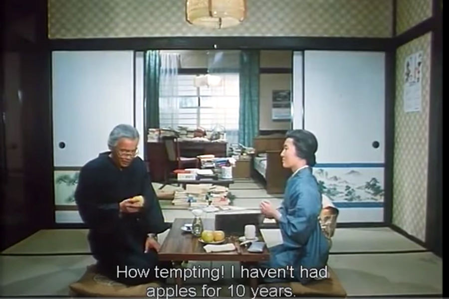 Japanese house in a North Korean movie. DPRK cinema is a great way to see what the values of the North Korean society may be