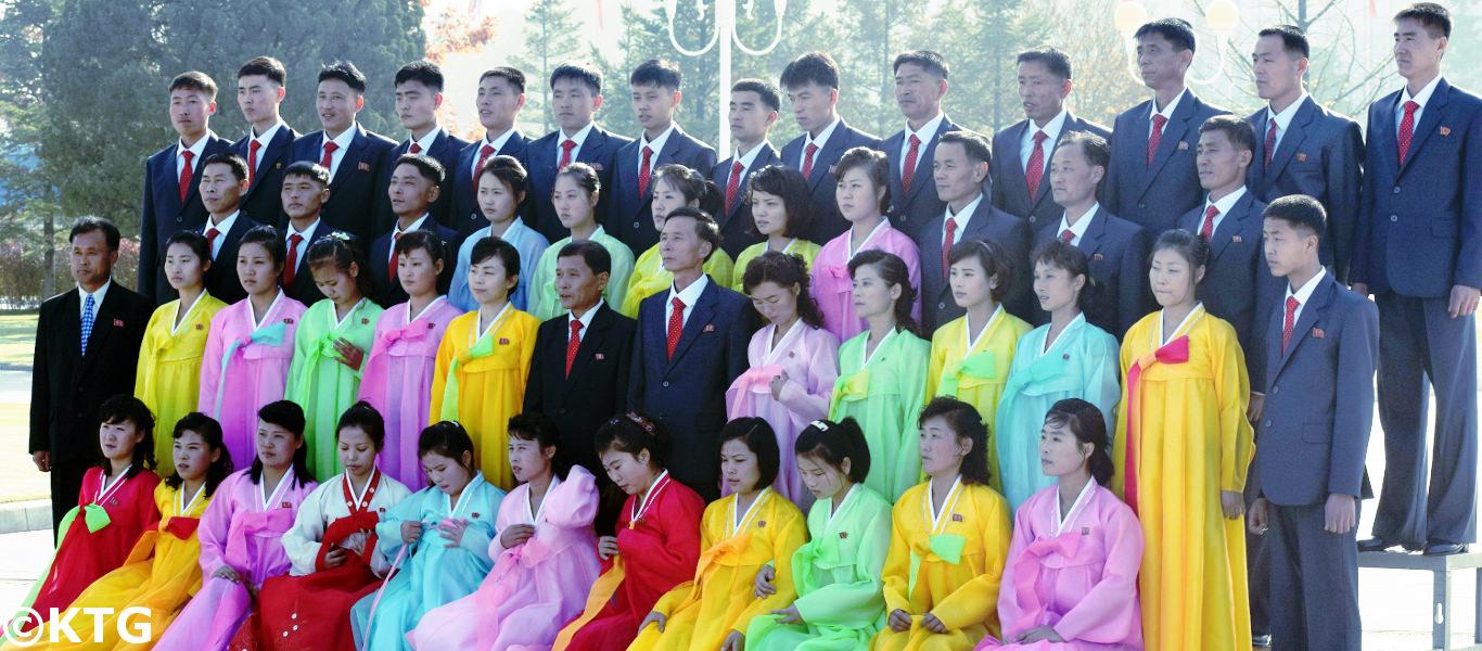 Kumsusan Palace, Pyongyang, DPRK (mausoleum in North Korea)