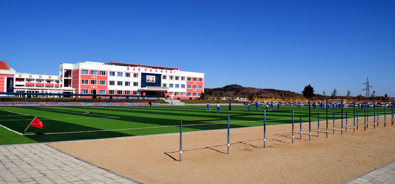 orphanage in the outskirts of Nampo, North Korea