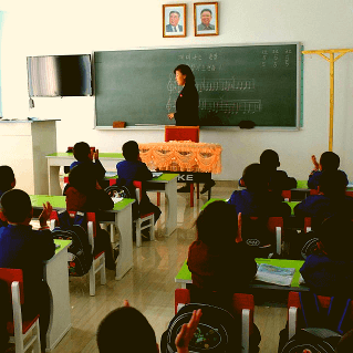 Orphanage near Nampo in North Korea. KTG Tours