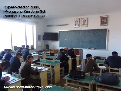 Pyongsong middle school, North Korea