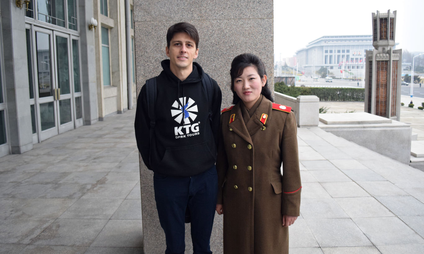 Musée du métro de Pyongyang, Corée du Nord. Voyage en RPDC organisé par KTG Tours