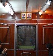 travelling to North Korea, Pyongyang Metro ride