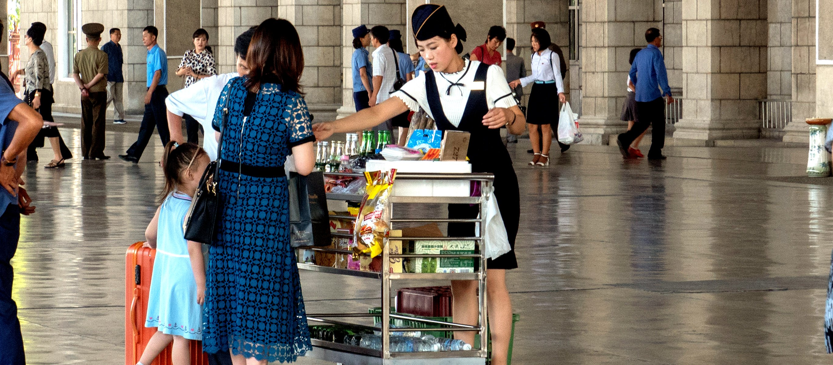 Pyongyang Train Station, North Korea (DPRK) with KTG Tours